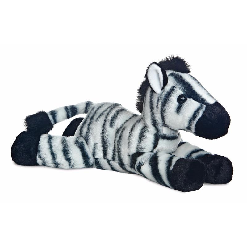 Pluche zebras knuffeldier 30 cm