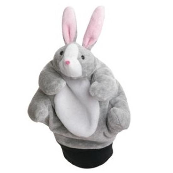 Poppentheater handpop konijn/haasje 22 cm