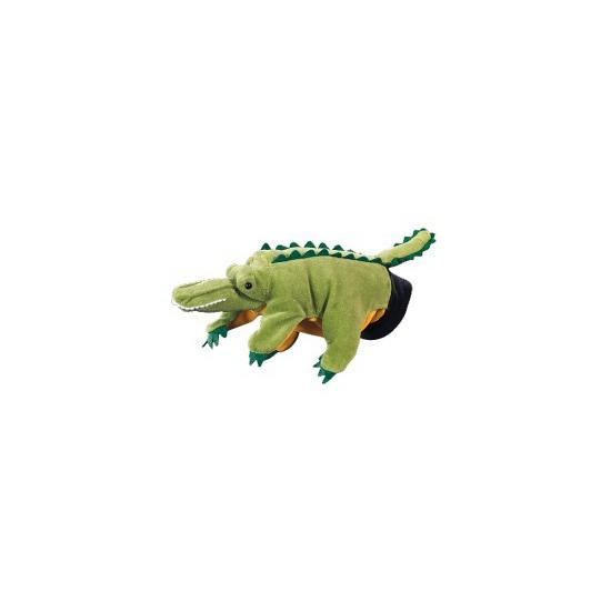 Poppentheater handpop krokodil 22 cm