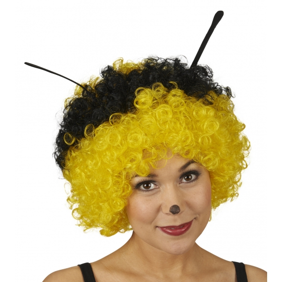 Pruik bijen motief