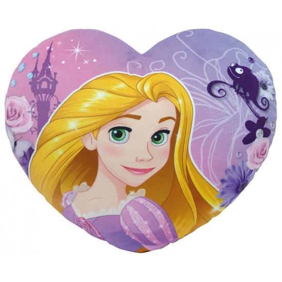 Afbeelding Rapunzel kussentje in hartvorm door Animals Giftshop