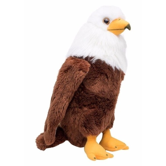 Roofvogel zeearend knuffel 30 cm