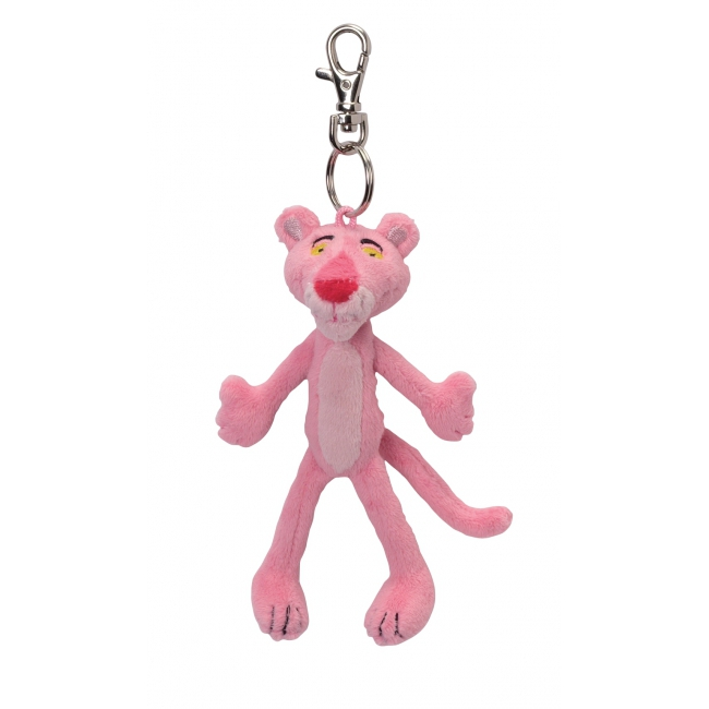 Roze knuffel Pink Panther sleutelhanger