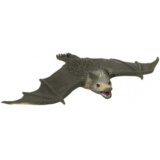 Rubberen horror/halloween vleermuis 20 cm