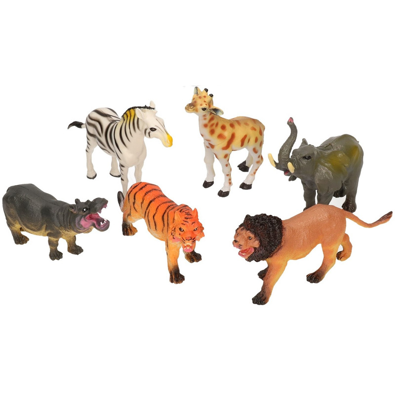 Safari plastic dieren