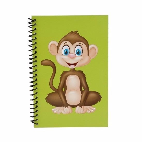 Schriften Chimpansee aap/apen groen 18cm