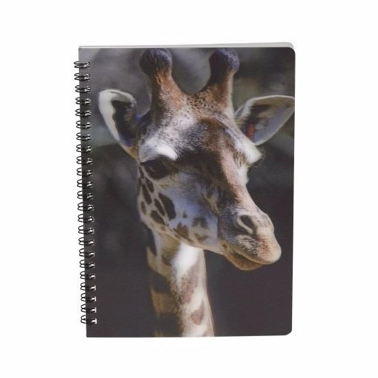 Schriftje giraffe 3D 21cm