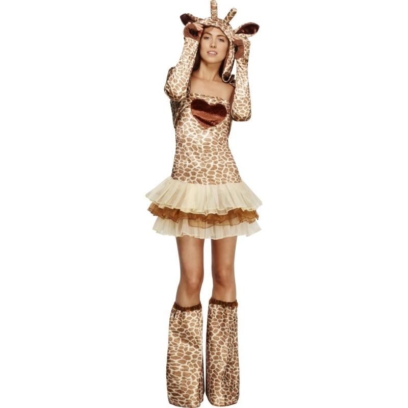 Sexy giraffe kostuum voor dames