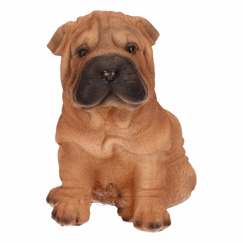 Shar Pei hond tuinbeeldje