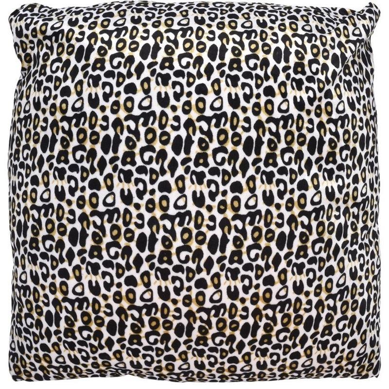 Sierkussentje met cheetah print 45 cm