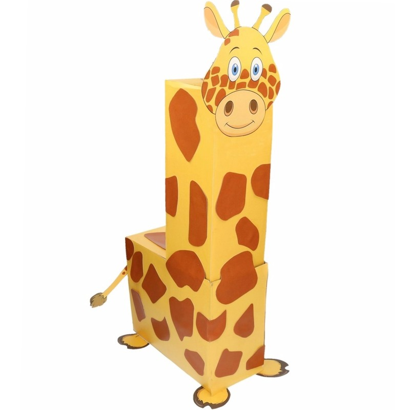 Sinterklaas surprise giraffe DIY pakket