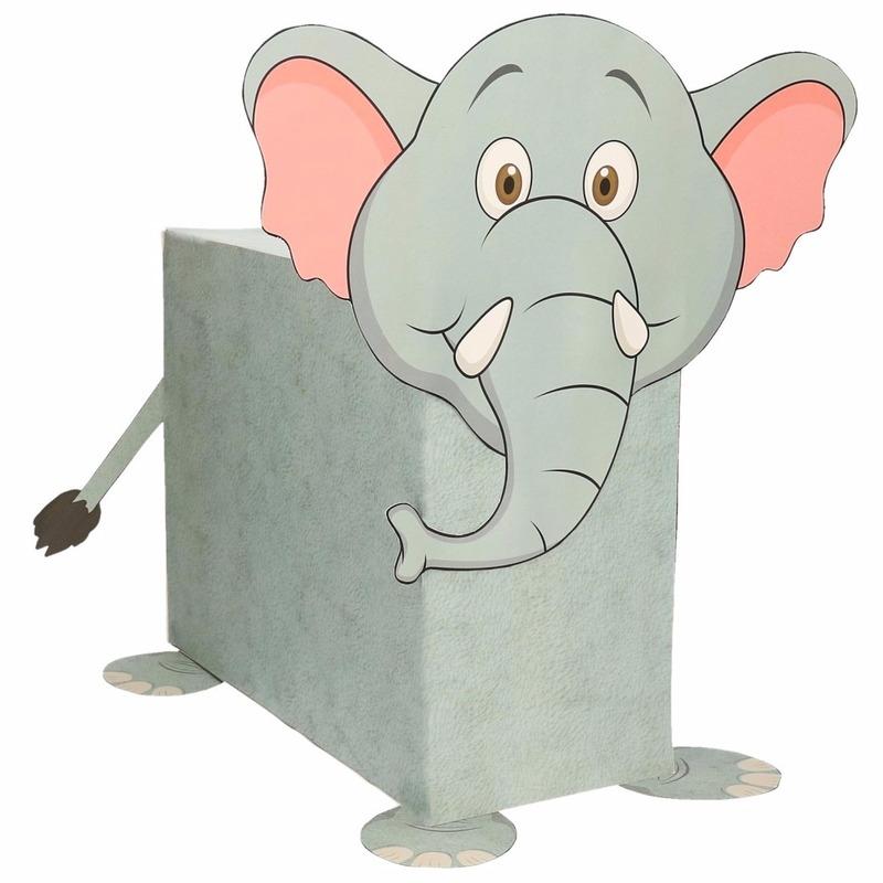 Sinterklaas surprise olifant DIY pakket