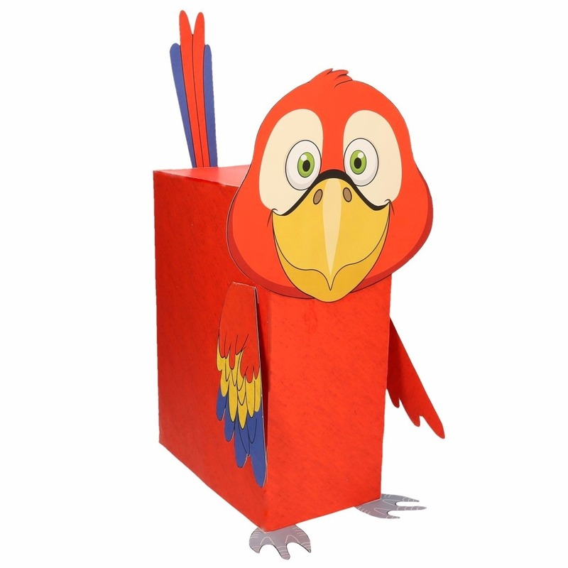 Sinterklaas surprise papegaai DIY pakket