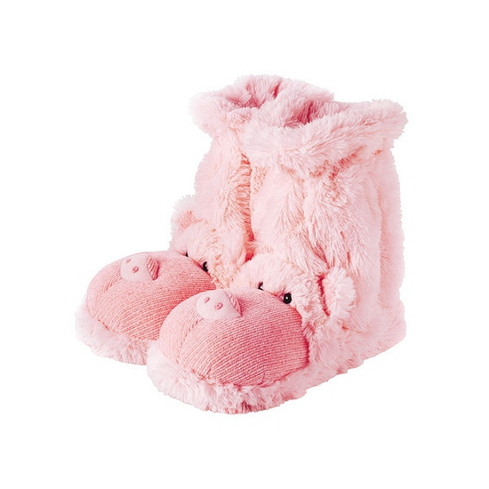 Slof sokken roze varken