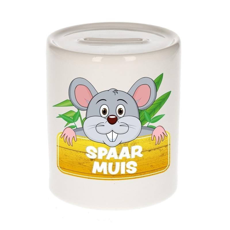 Spaarpot van de spaar muis Mighty Mike 9 cm