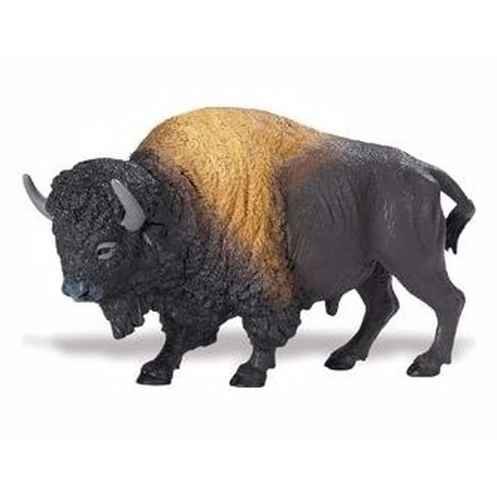 Speelgoed nep bizon 13 cm