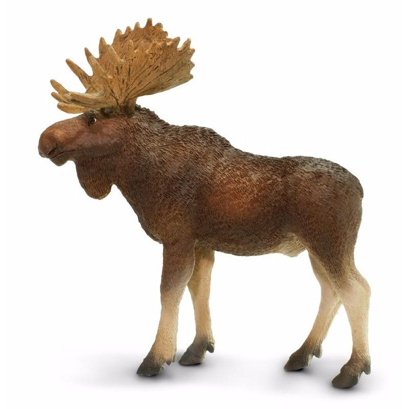 Speelgoed nep eland stier 10 cm