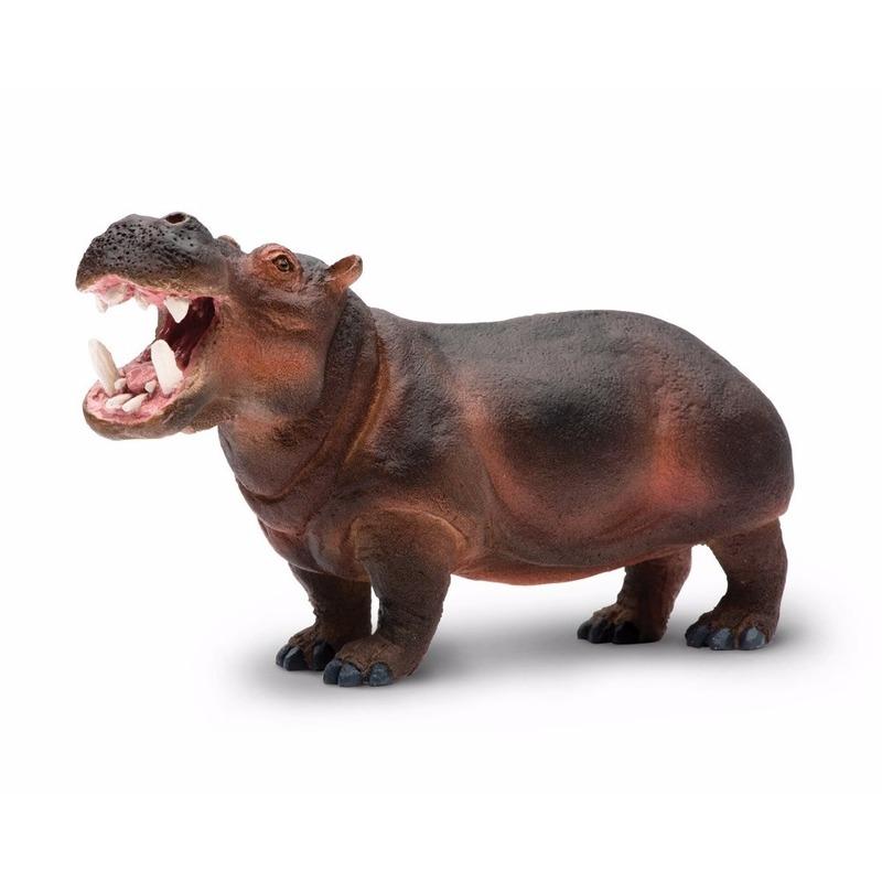 Speelgoed nep nijlpaard 24 cm