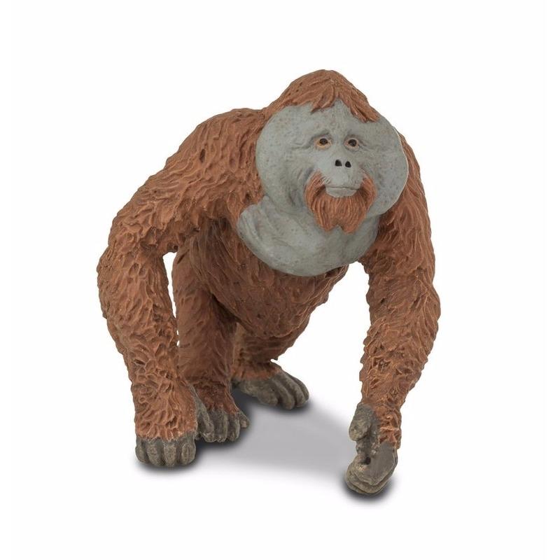 Speelgoed nep orang oetan 11 cm