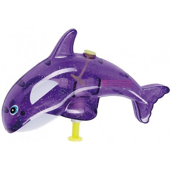 Speelgoed waterpistolen paarse orka 13 cm