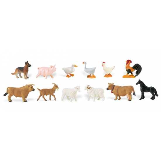 Speelset boerderij dieren