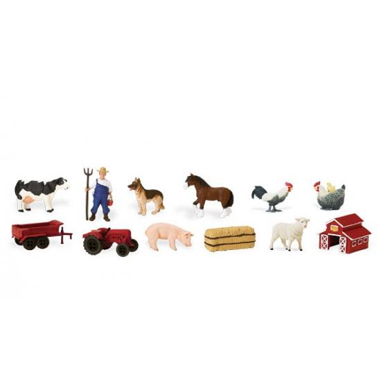 Speelset boerderij figuren