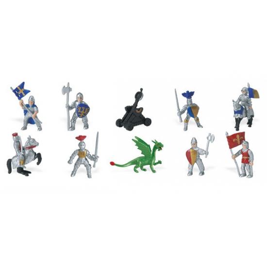 Speelset ridders en draken