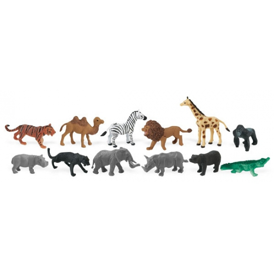 Speelset wilde dieren