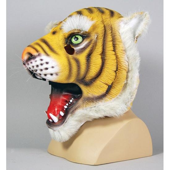 Tijgers masker voor volwassenen