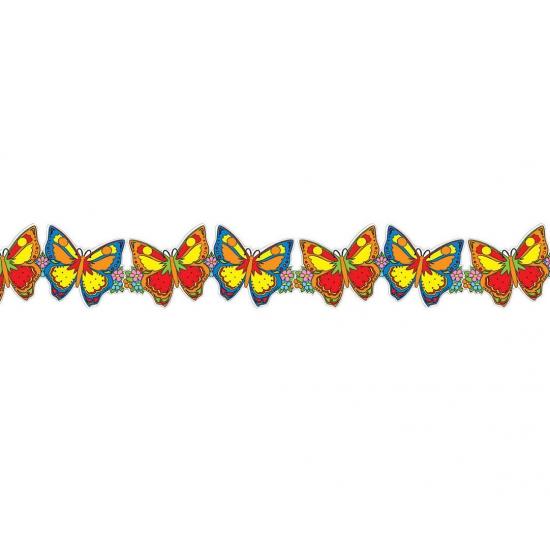 Tropische vlinder slingers