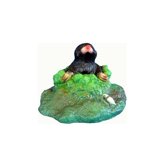Tuinbeeld van een mol 20 cm