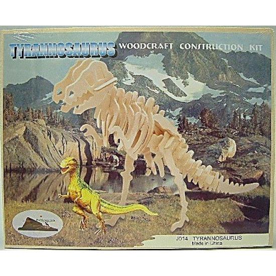 Tyrannosaurus bouwpakket hout