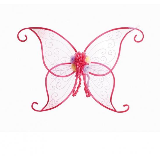 Vleugels vlinders roze