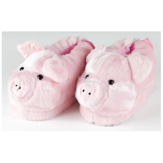 Volwassenen dieren pantoffels varken