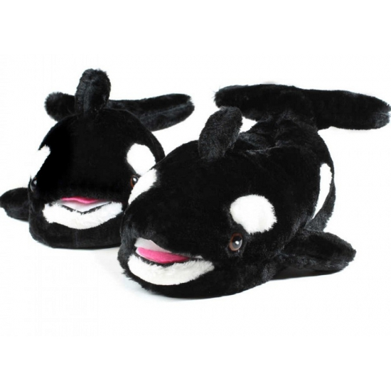 Volwassenen dieren pantoffels walvis