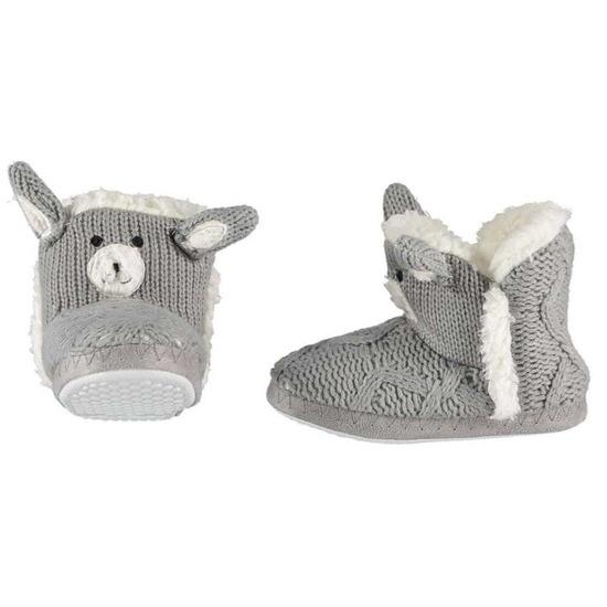 Warme dieren slofjes/pantoffeltjes konijn voor kinderen