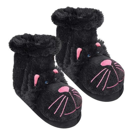 Warme sokken zwarte kat