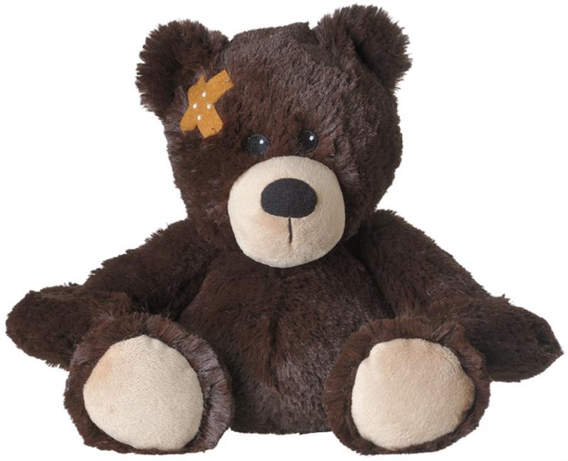 Warmte knuffel beer met pleister