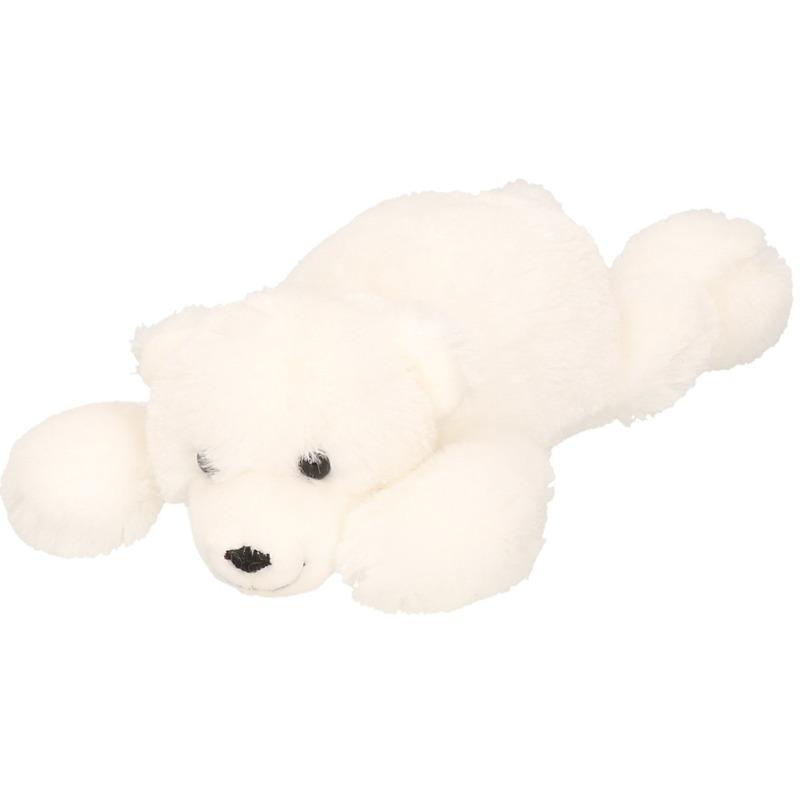Witte beer knuffel Knut 26 cm