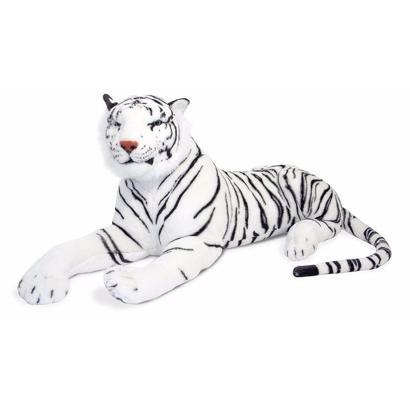 Witte tijger 100 cm