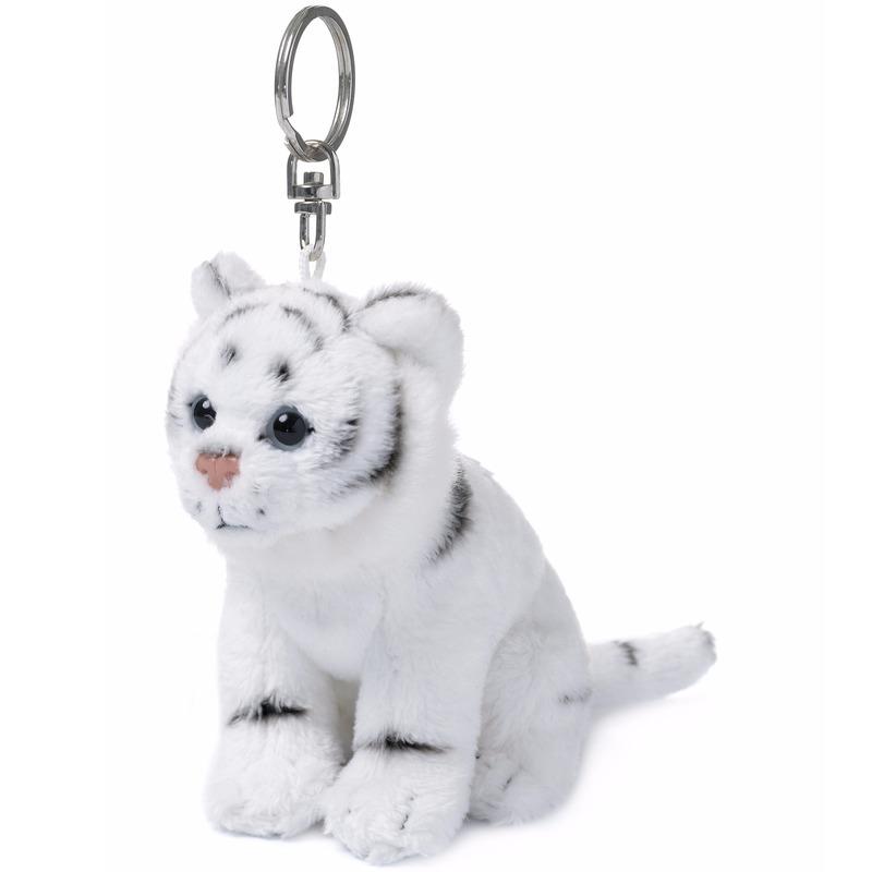 Witte tijger sleutelhanger van WNF