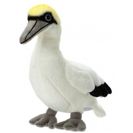 Witte zeevogel knuffels 17 cm knuffeldieren
