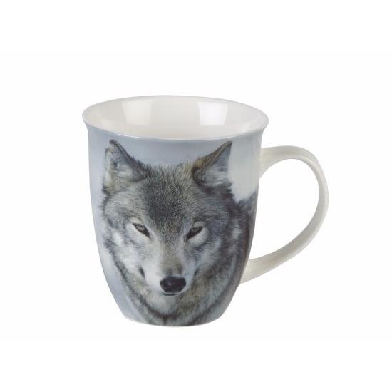 Wolf/Wolven koffiebeker 400ml
