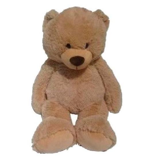 XL beer lichtbruin knuffeldier 100 cm