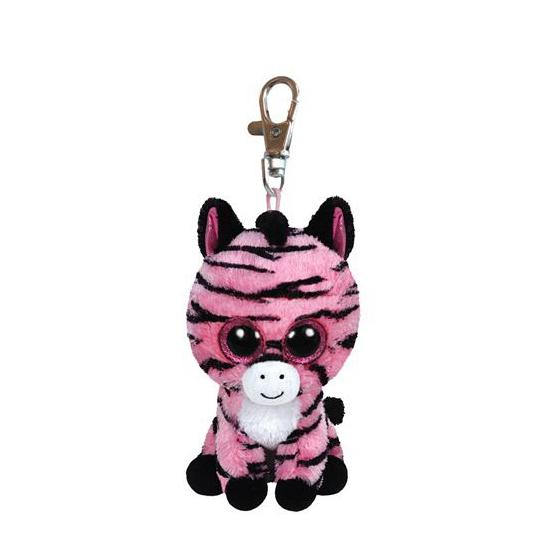 Zebra Ty Beanie sleutelhanger 12 cm
