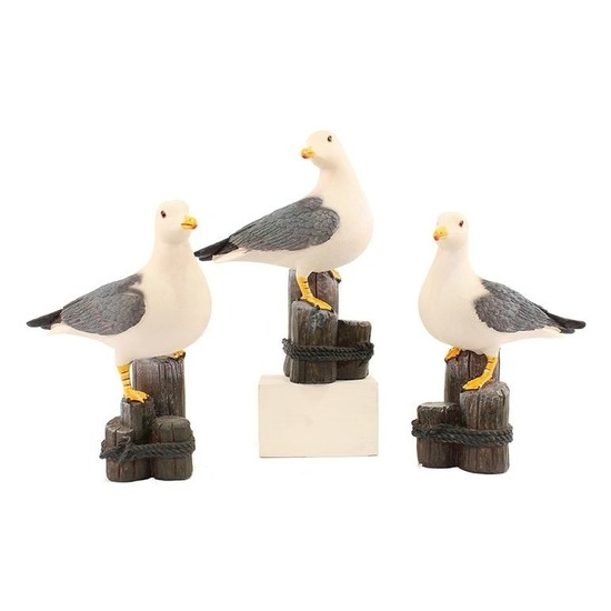 Afbeelding Zeemeeuw decoratie van steen door Animals Giftshop