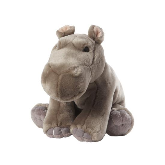 Zittende nijlpaard knuffels 22 cm