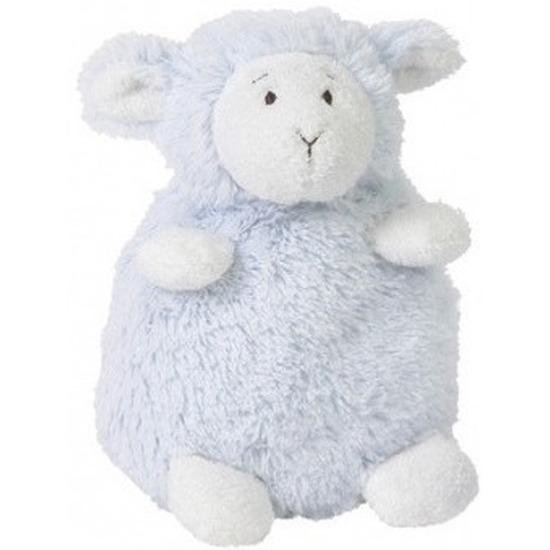 Zittende pluche Happy Horse lammy 16 cm kleur blauw