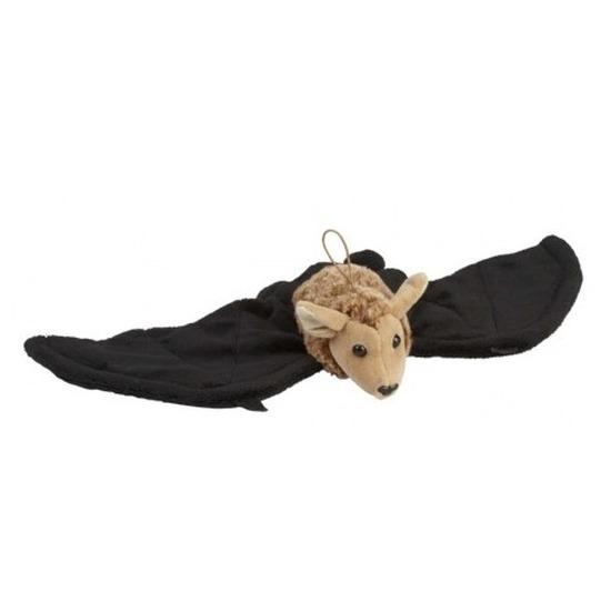 Zwart/bruine vleermuizen knuffels 45 cm knuffeldieren