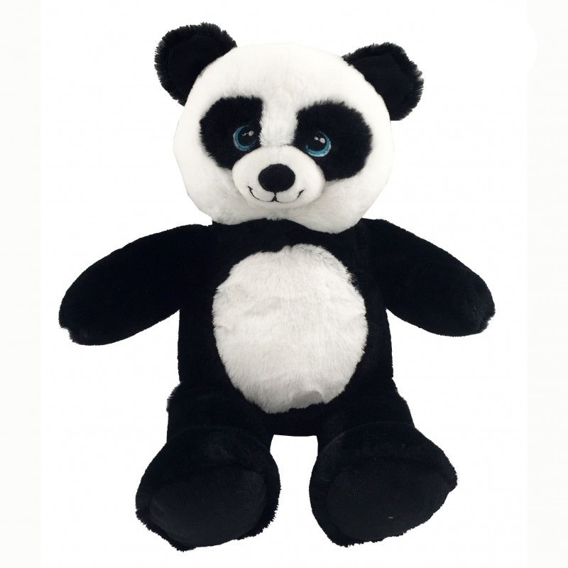 Zwart/witte panda beer knuffel 40 cm knuffeldieren